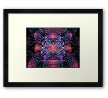 Corals Of The Deep Framed Print