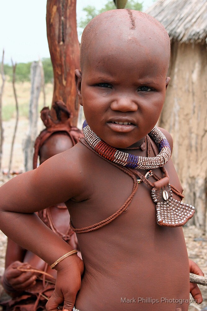 Himba Girl by Mark Phillips Photography