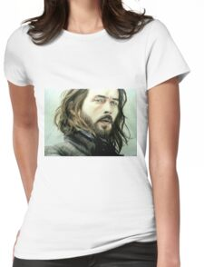 Tom Mison as Ichabod Crane Womens Fitted T-Shirt