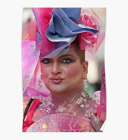 Drag Queen, Gay Pride NYC 2010 Poster