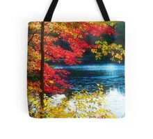 The Glory of a New England Autumn Tote Bag
