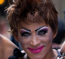 Drag Queen, Gay Pride NYC, 2011 by Robert Ullmann