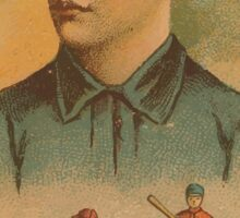 Benjamin K Edwards Collection Dell Darling Chicago White Stockings baseball card portrait Sticker