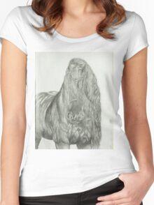 Destrier Women's Fitted Scoop T-Shirt
