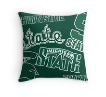 Michigan State  Throw Pillow