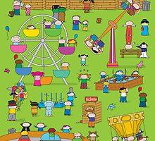 Oekie Fair - Print, Card & Poster by oekies