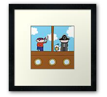 Pirates - Print, Card & Poster Framed Print