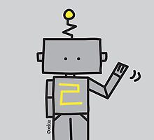 Robot - Clothing, Sticker & iCase by oekies