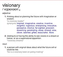 Who is a visionary ? by santoshputhran