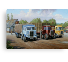 Max's transport cafe. Canvas Print