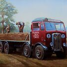 AEC Mammoth Major London Brick. by Mike Jeffries