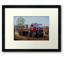AEC Mammoth Major London Brick. Framed Print