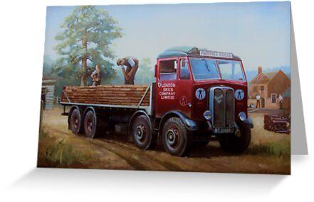 AEC Mammoth Major London Brick. by Mike Jeffries