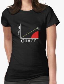 Hot Crazy Scale Womens Fitted T-Shirt