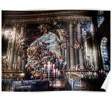 The West Wall of the Painted Hall Poster