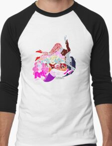 PB and Marcy-Caught Between Each Other's Worlds Men's Baseball ¾ T-Shirt