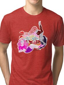 PB and Marcy-Caught Between Each Other's Worlds Tri-blend T-Shirt