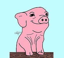 Perky Piglet by NolanRTaylor