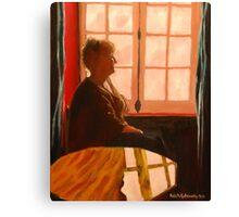 Ruan contemplation life! Canvas Print