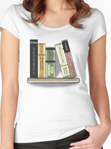 Recommended Reading Women's Fitted Scoop T-Shirt