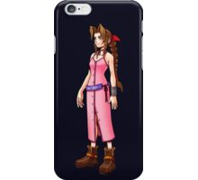 """Aerith """"No matter where we are, our hearts will bring us together again."""" iPhone Case/Skin"""