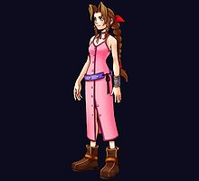 "Aerith ""No matter where we are, our hearts will bring us together again."" by MissPyropixie"