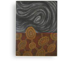 Djanak yok djundal - (devil woman, white haired) Canvas Print