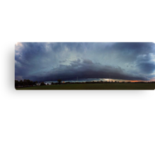 Severe Storm - December 12 2011 Canvas Print