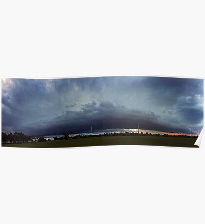 Severe Storm - December 12 2011 Poster