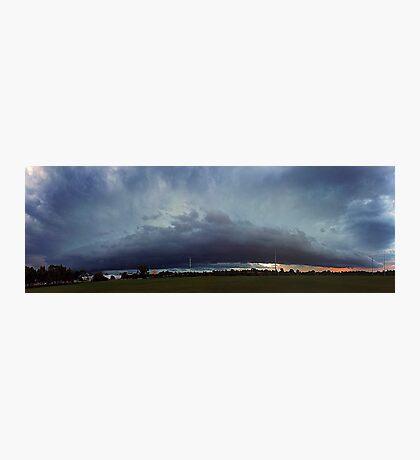 Severe Storm - December 12 2011 Photographic Print