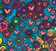 Maine Is Love (Blue) Sticker