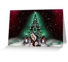 Please Come Home For Christmas Greeting Card