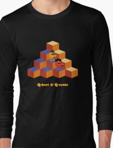 Q*Bert and Q*ernie Long Sleeve T-Shirt
