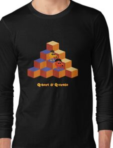 Q*Bert and Q*ernie Long Sleeve T-Shirt