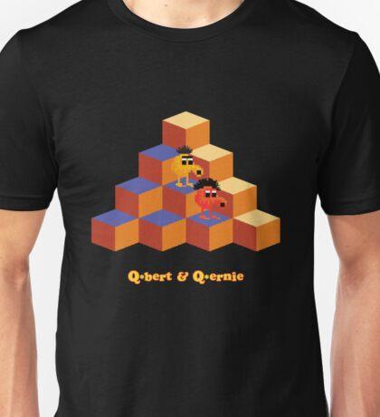 Q*Bert and Q*ernie Unisex T-Shirt