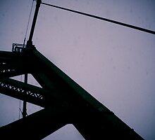 Overcast Bridge by ScaredylionFoto