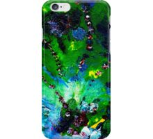 GREEN COSMOS iPhone Case/Skin