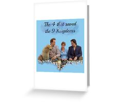 10th Kingdom Greeting Card