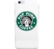 Pop Punk Coffee iPhone Case/Skin