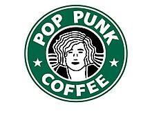 Pop Punk Coffee Photographic Print