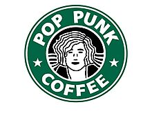 Pop Punk Coffee Photographic Print