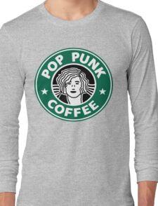Pop Punk Coffee Long Sleeve T-Shirt