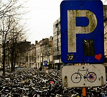 Bike parking in Ghent by romanosmat