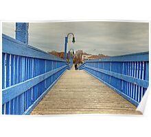 On the blue bridge Poster