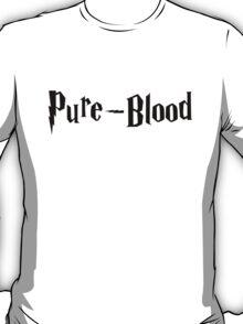 Pure-Blood (black text) T-Shirt