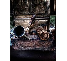 Coffee Implements Photographic Print