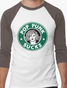 Pop Punk Sucks! Men's Baseball ¾ T-Shirt