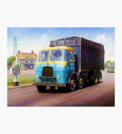 TVW bulk coal lorry Photographic Print