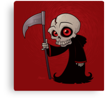Little Reaper Canvas Print