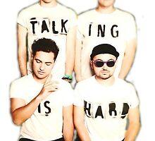 Talking Is Hard Album Cover by samemetha